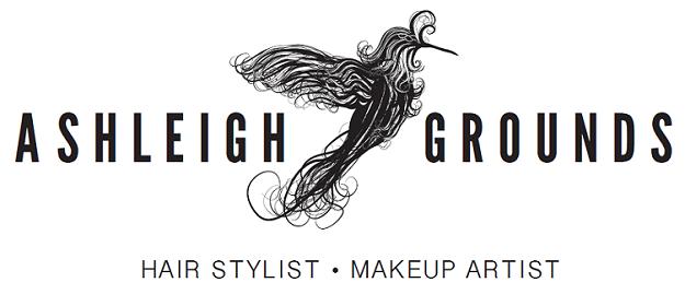 Ashleigh Grounds Hair Stylist Makeup Artist Logo