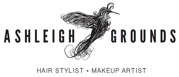 Ashleigh Grounds Hair Stylist & Makeup Artist Logo